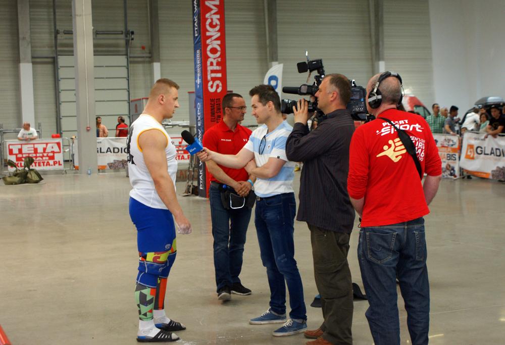 Relacja naszych zawodów na Polsat Sport