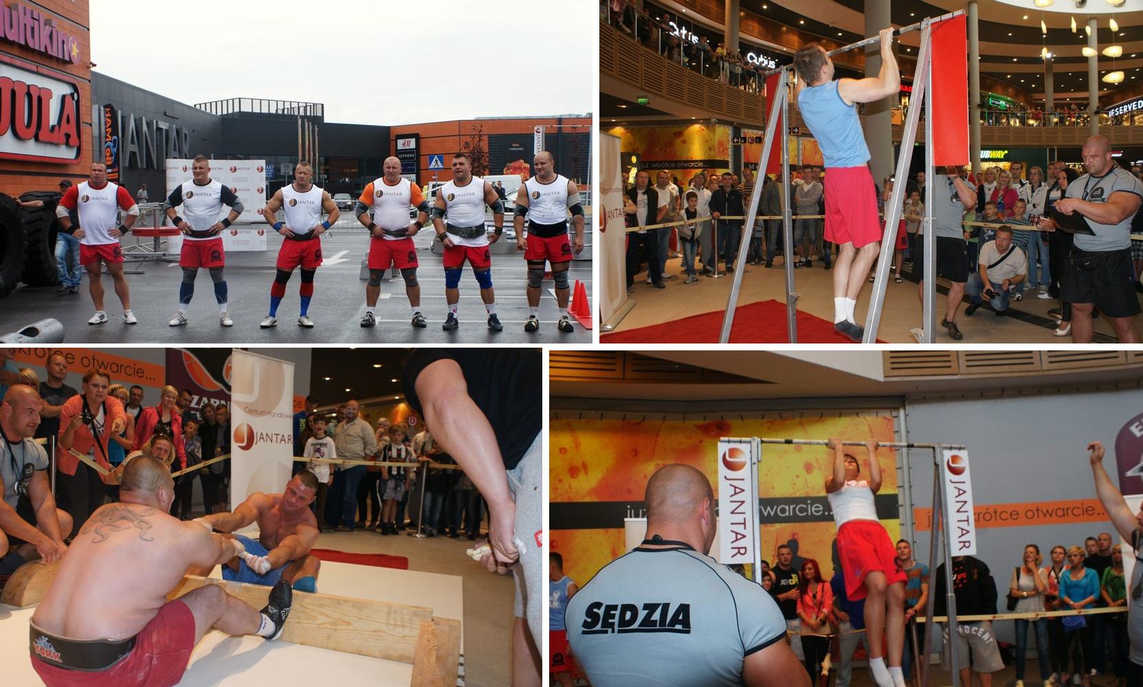 Festiwal Siły i Sprawności, który zorganizowaliśmy w galerii Jantar