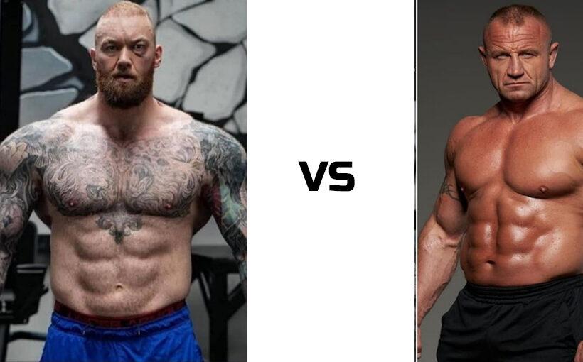Mariusz Pudzianowski vs Hafthor Bjornsson